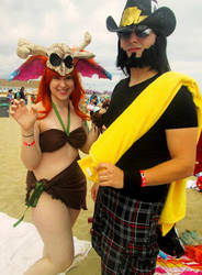 Gnar and Twisted Fate Beach Versions