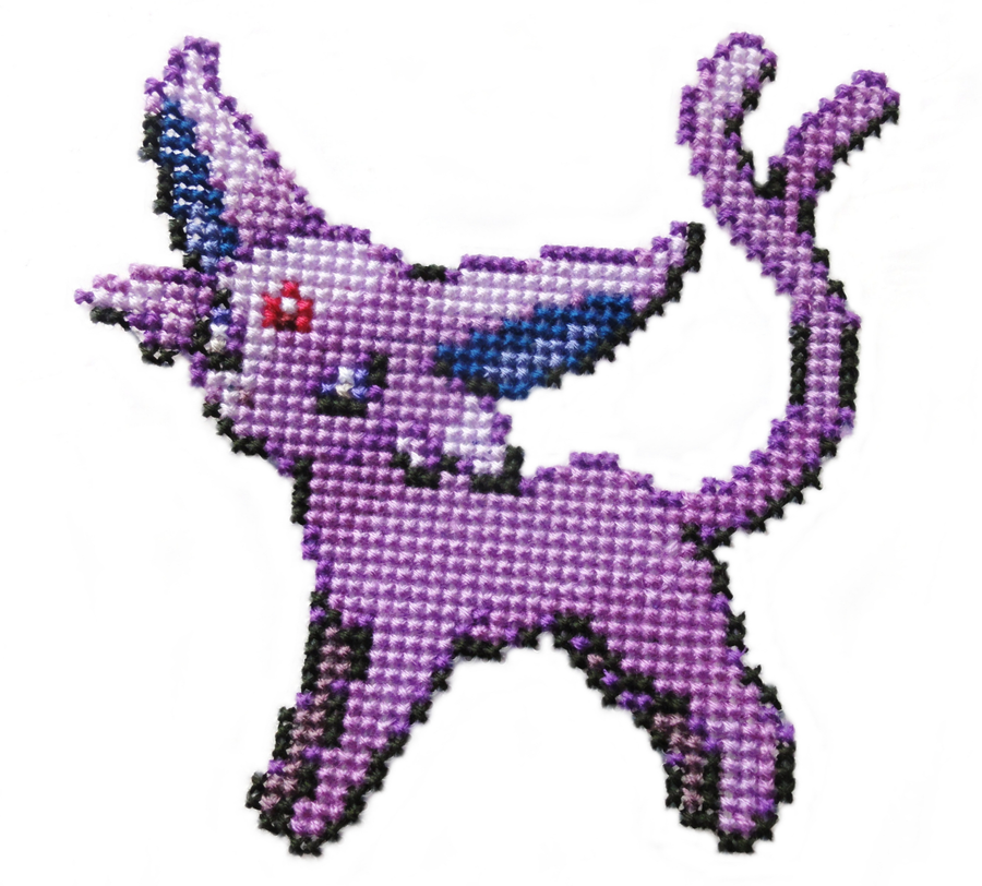 196 - Espeon by Devi-Tiger