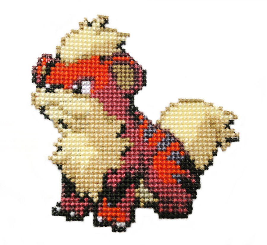 058 - Growlithe by Devi-Tiger
