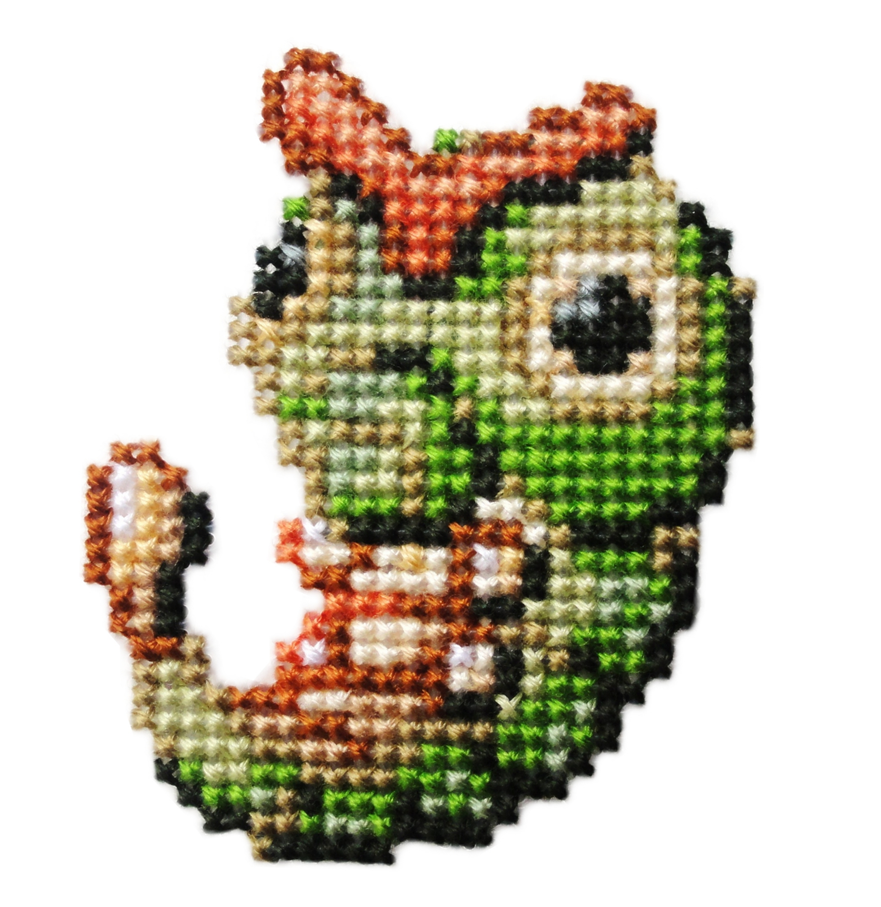 010 - Caterpie by Devi-Tiger