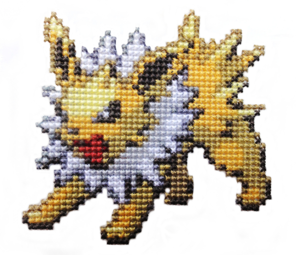 135 - Jolteon by Devi-Tiger