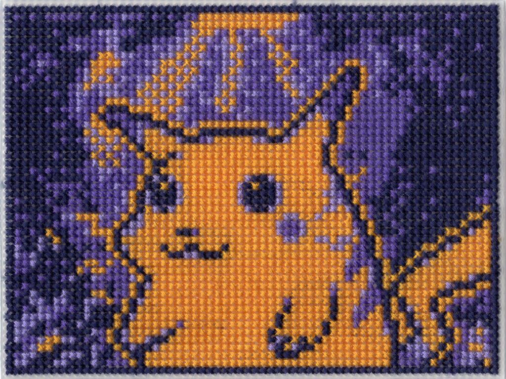 25 - Pikachu Card by Devi-Tiger