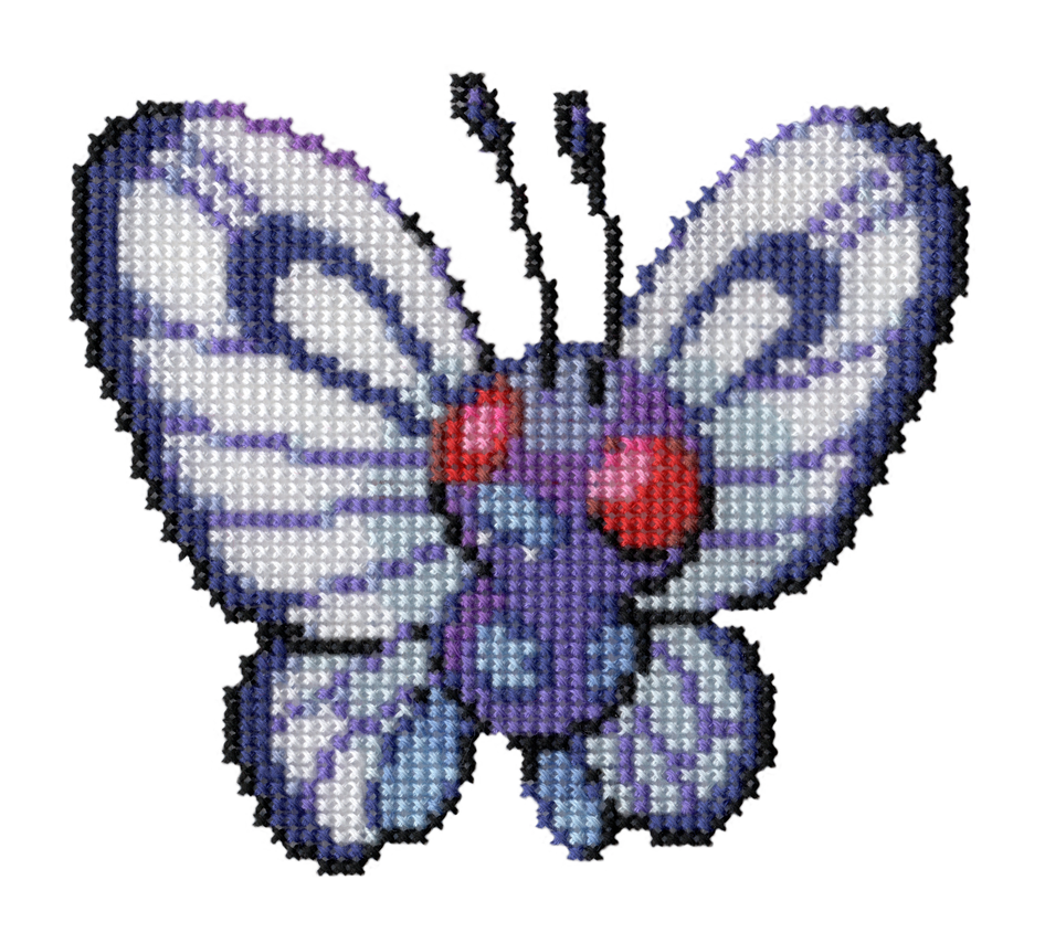 012 - Butterfree by Devi-Tiger