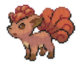 037 - Vulpix by Devi-Tiger