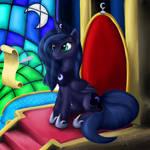 Luna works