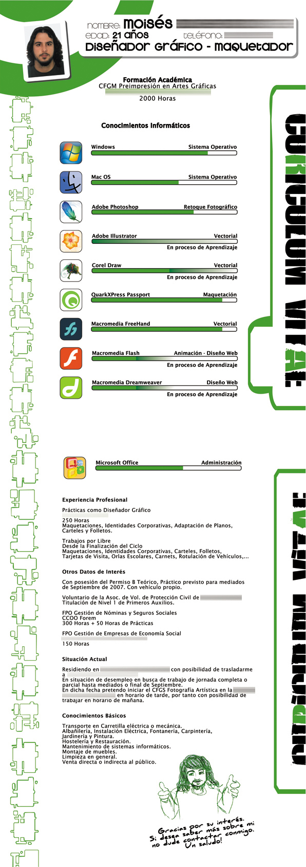 Curriculum Vitae by Uito2