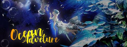 Underwater Facebook Cover by jelsaSnowflake