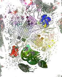 18th Birthday Line Art Challenge by jelsaSnowflake
