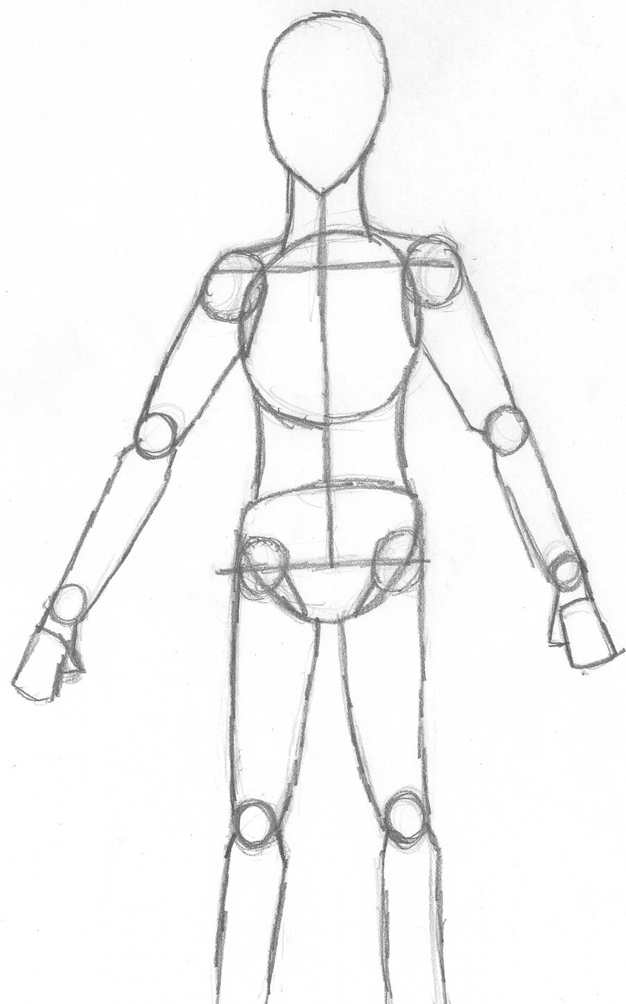 Basic Body Shape by With-Hope-Yet on DeviantArt
