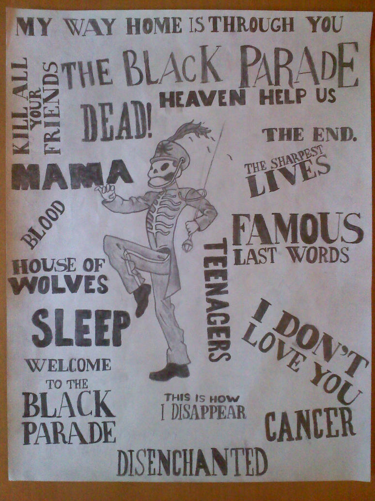 My Chemical Romance The Black Parade By BunnyWithLasers