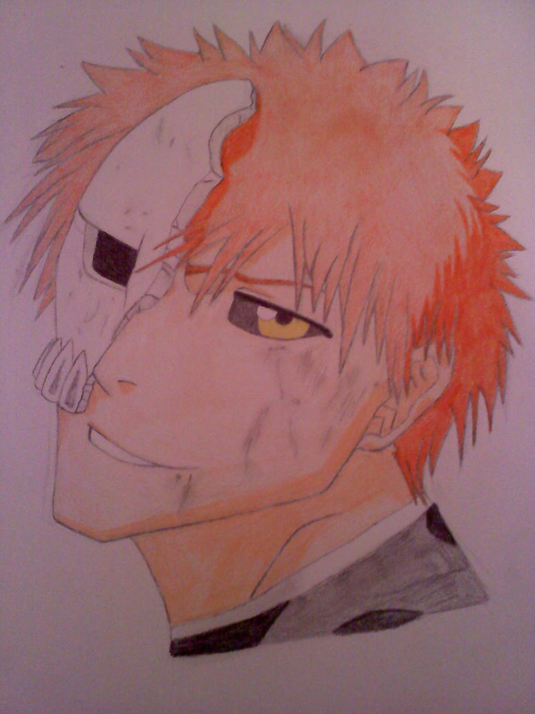 Hollowfied Ichigo by BunnyWithLasers