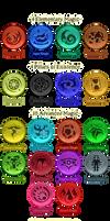 20 Base Magical Elements
