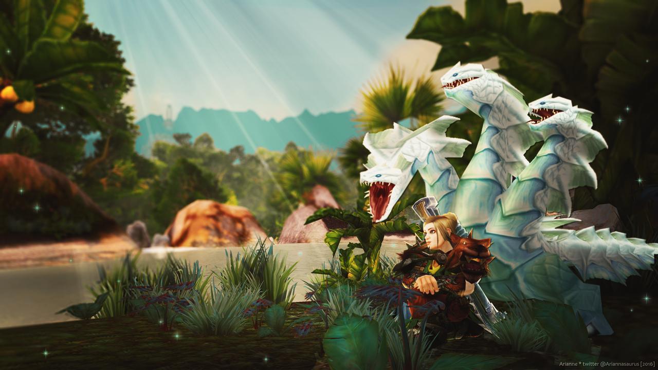 Thrill of the Wild by Ariannasaurus
