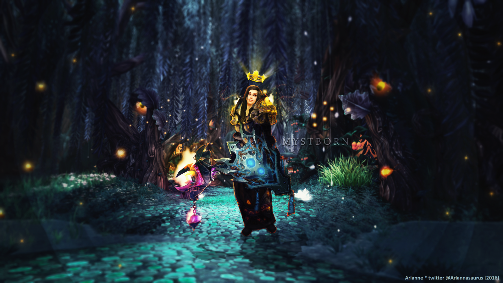 The Light in the Night by Ariannasaurus