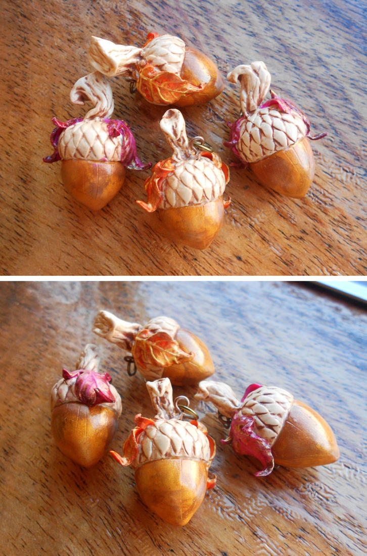 Eversong Acorn Charms by Ariannasaurus