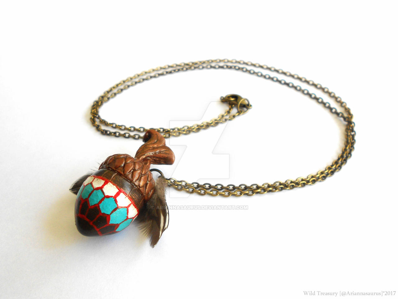 Mulgore Acorn Necklace by Ariannasaurus