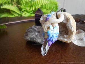 Commission: Coldarra Crystal Vine Necklace