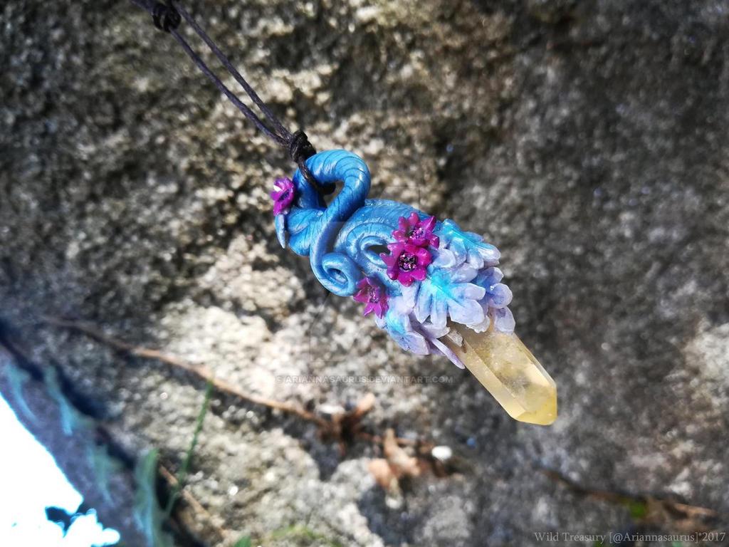 Argunite Crystal Vine by Ariannasaurus