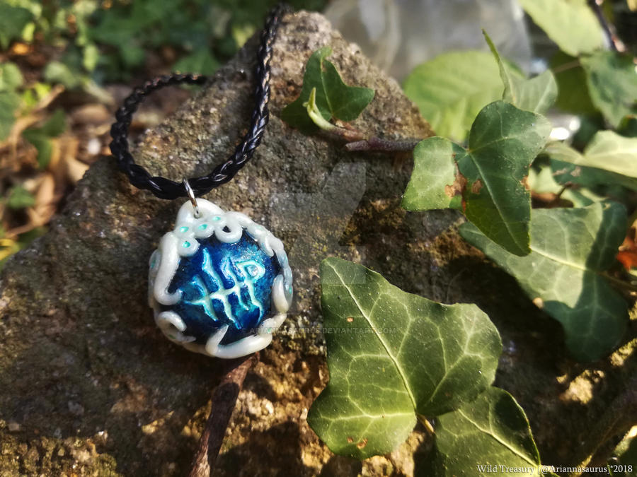 Milkweed Rune Necklace