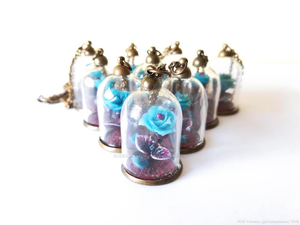 Enchanted Starlight Roses by Ariannasaurus