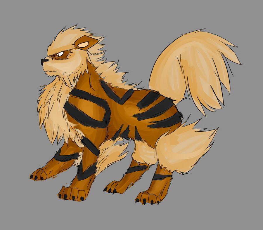 Pokemon Project Arcanine 190896004
