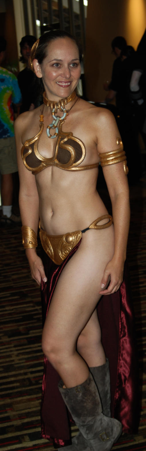 Dragoncon 2009 - Slave Leia by