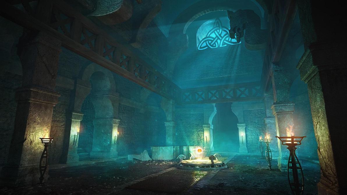 Relic Room by NikitaMartianov