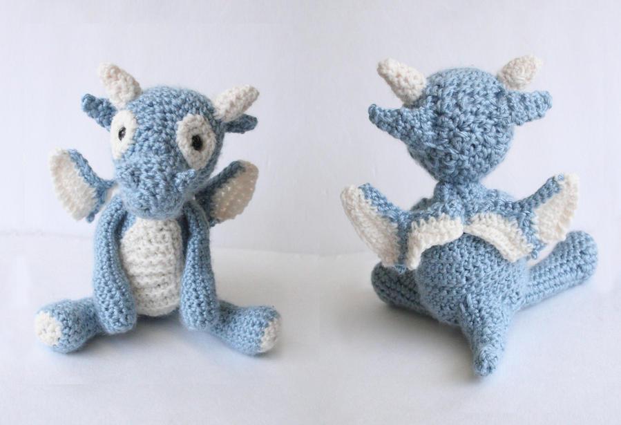 Blue Dragon by DarkRaven17