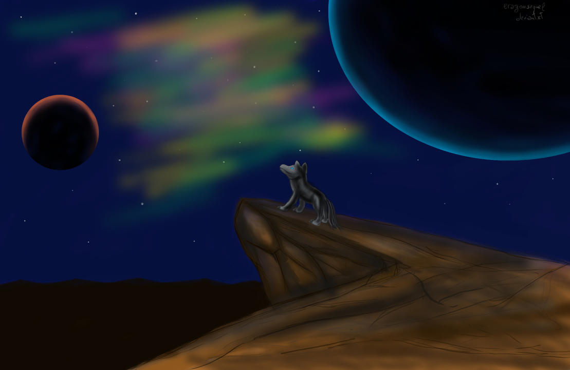 aurora by Bluenight01