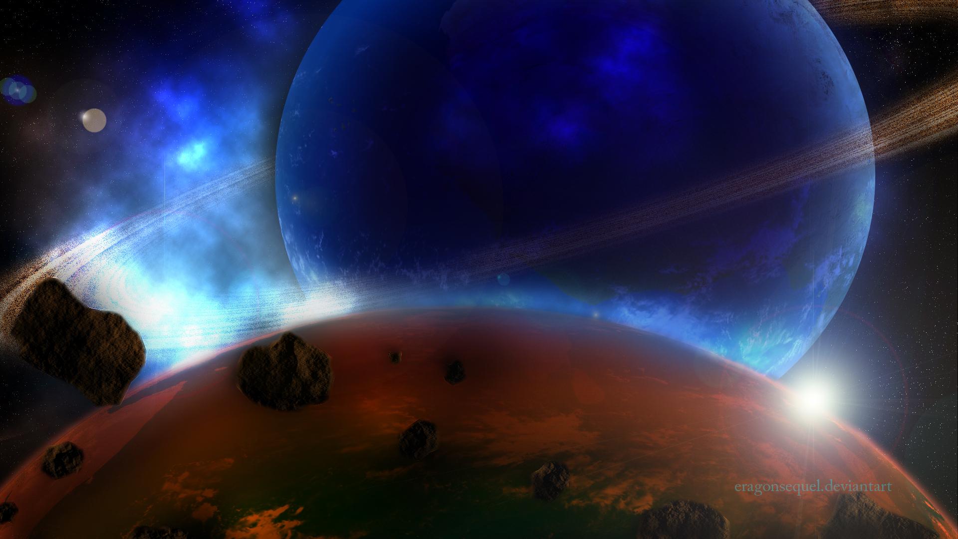 Beauty of universe by Bluenight01
