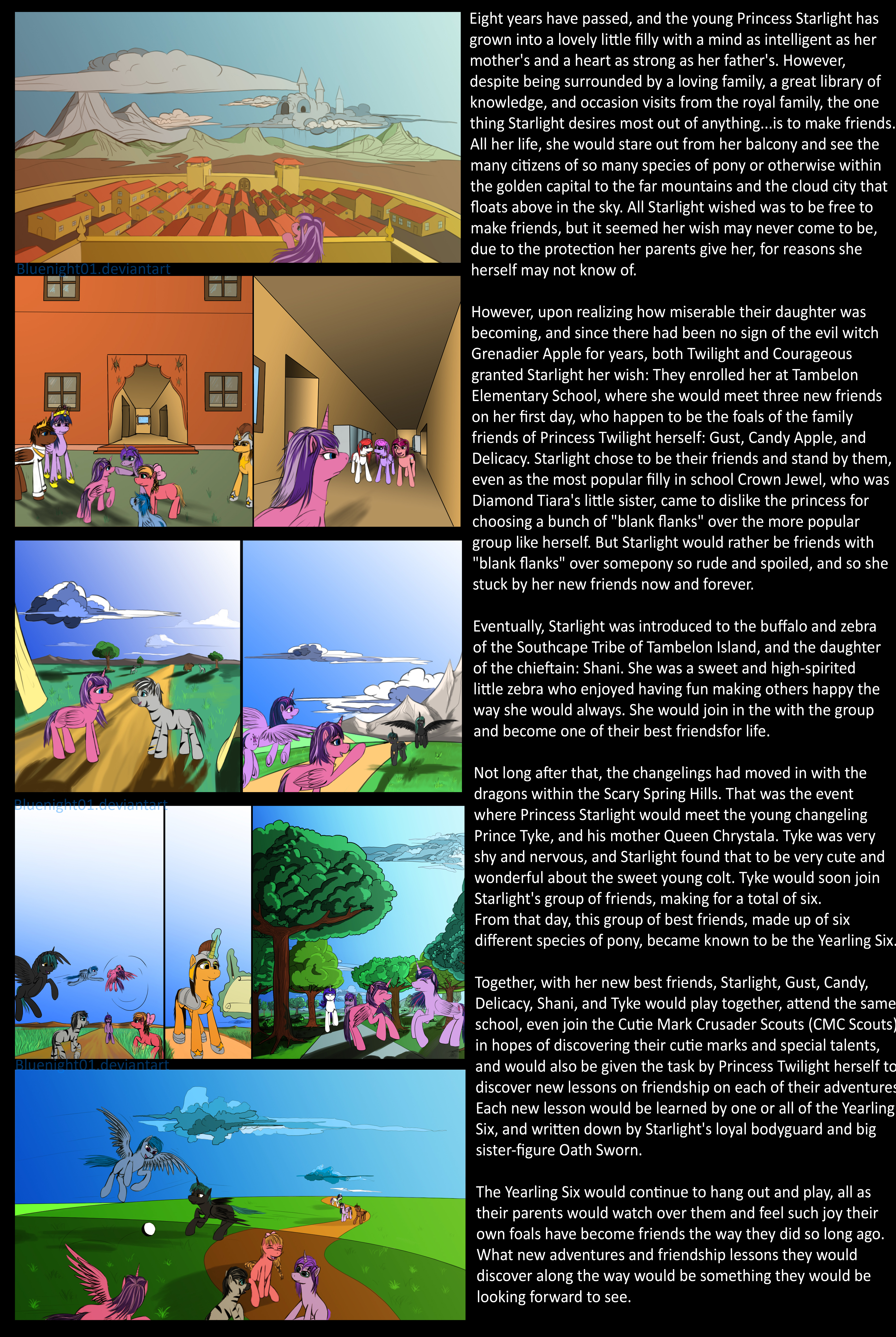 My Little Pony The Future is Magic Volume 1 Part 1 by Bluenight01