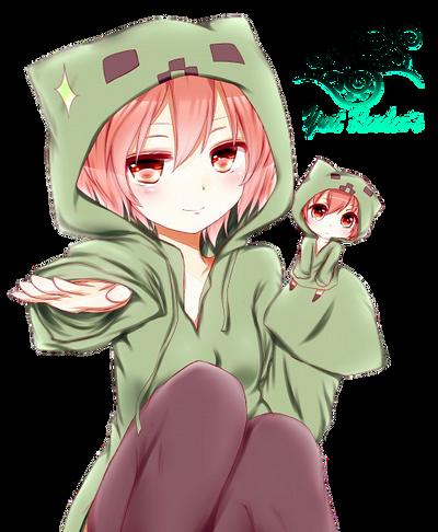 Anime creeper girl by yuriko2009 on deviantart - Creeper anime girl ...