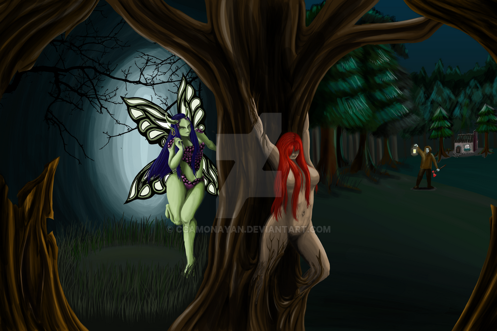 What lurks in the forest by ccamonayan