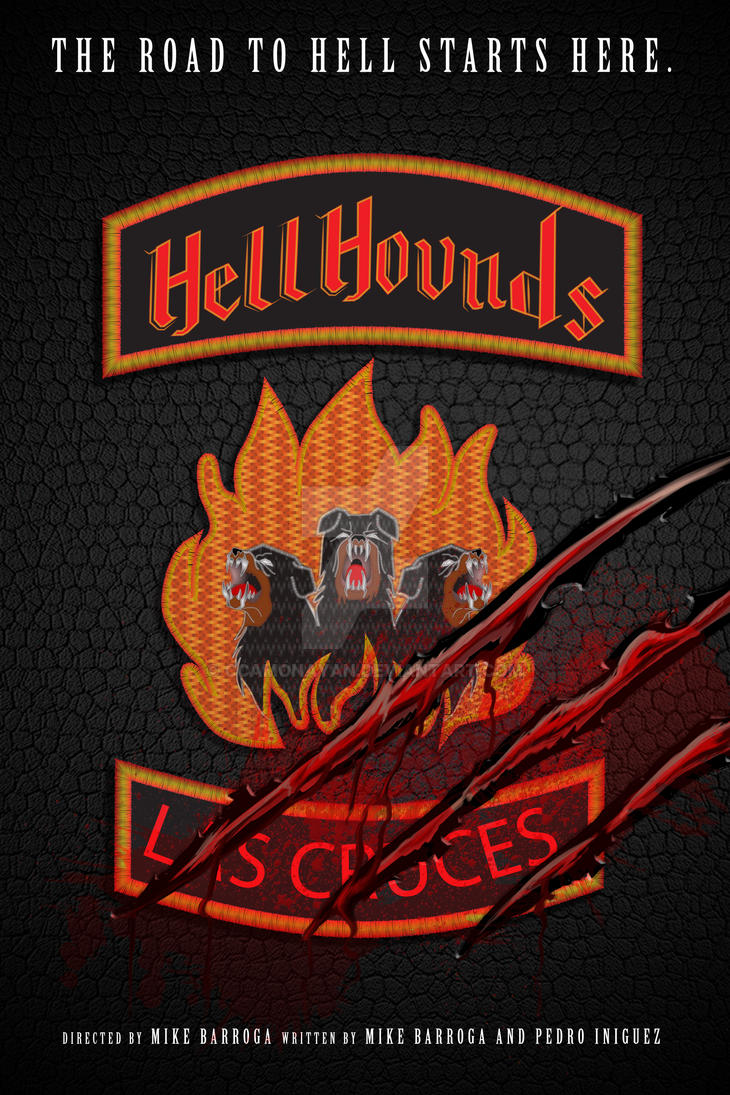 Hellhounds by ccamonayan