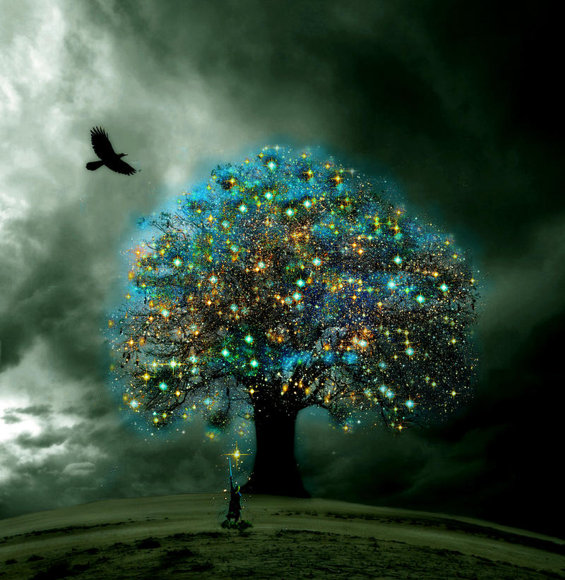 The Tree Of Enlightenment By Sky 2011 On Deviantart