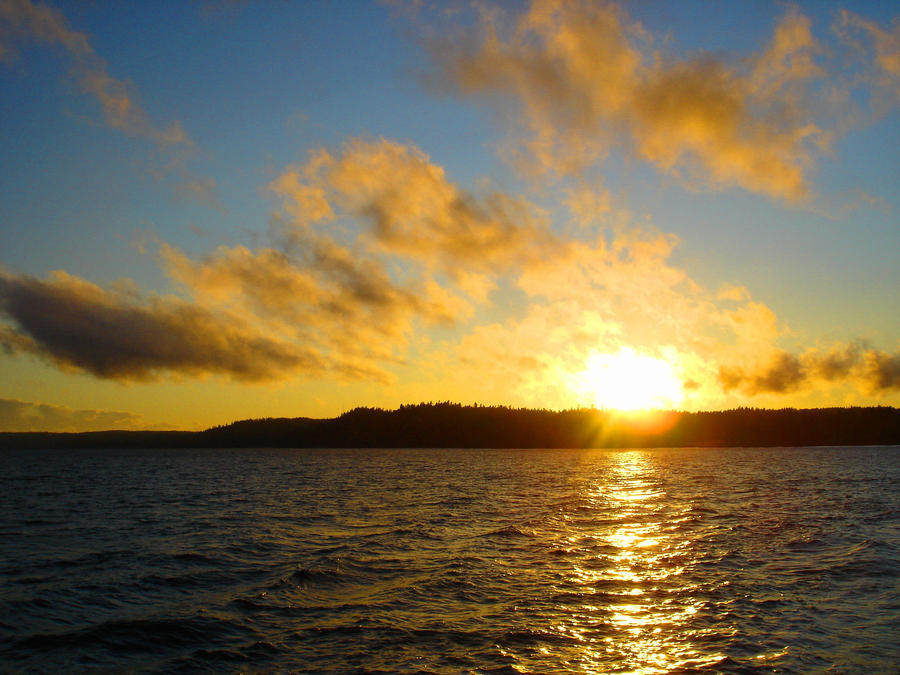 Sunset  Port Orchard by sky-2011