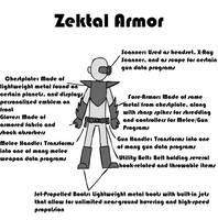 Zektal Armor by FireSonosuke