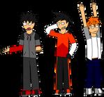 [SW] Three Stooges by FireSonosuke