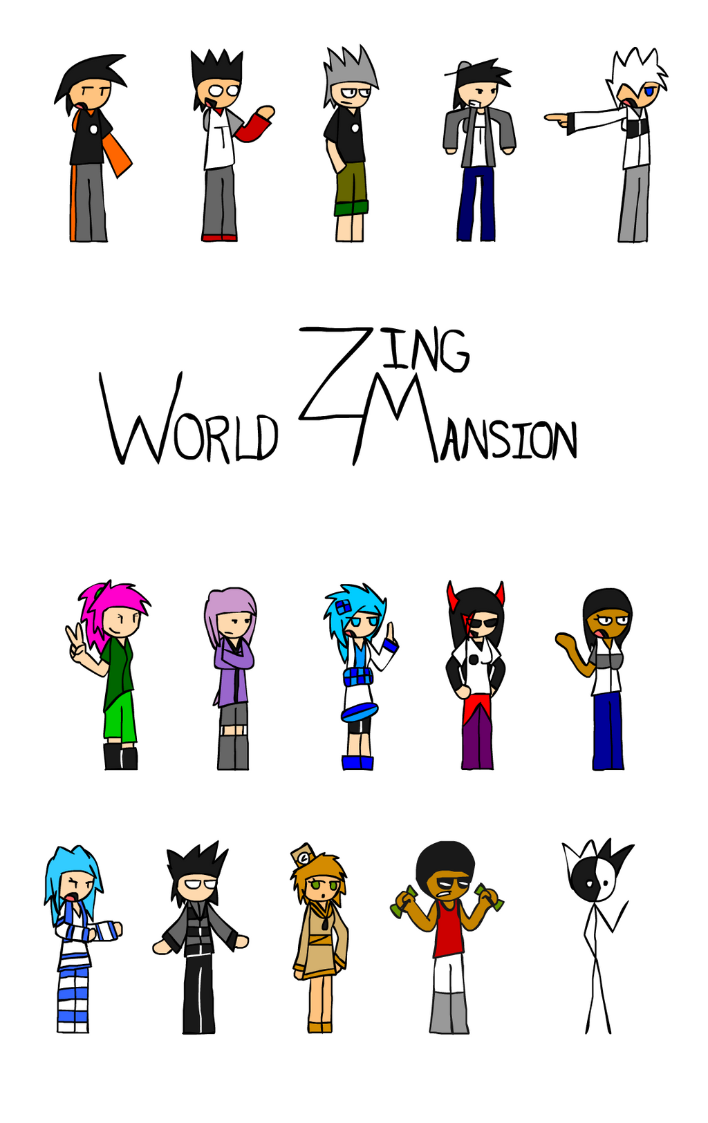 World Zing Mansion - Cover by FireSonosuke