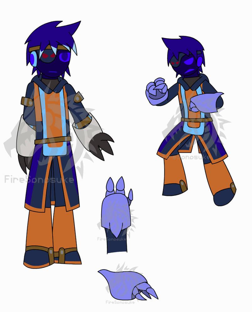 Bline Karjo, Frost Crusader by FireSonosuke