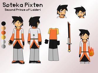 Character Sheet - Soteka by FireSonosuke