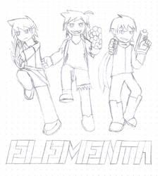 ELEMENTA Reveal - Lineart