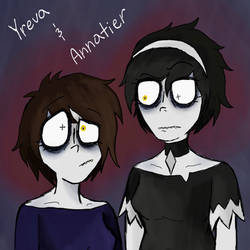 Yreva and Annatier by AvaArtist17