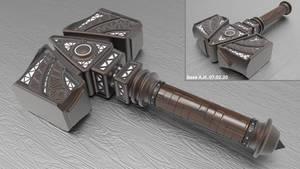 One-handed hammer - model 2301 (free download)