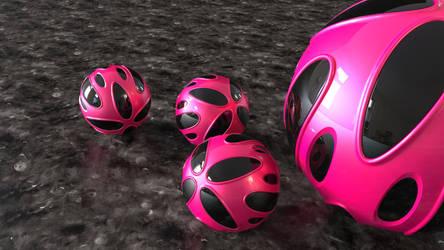 black style - P210520 (16:9) pink