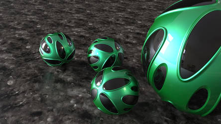 black style - P210520 (16:9) green