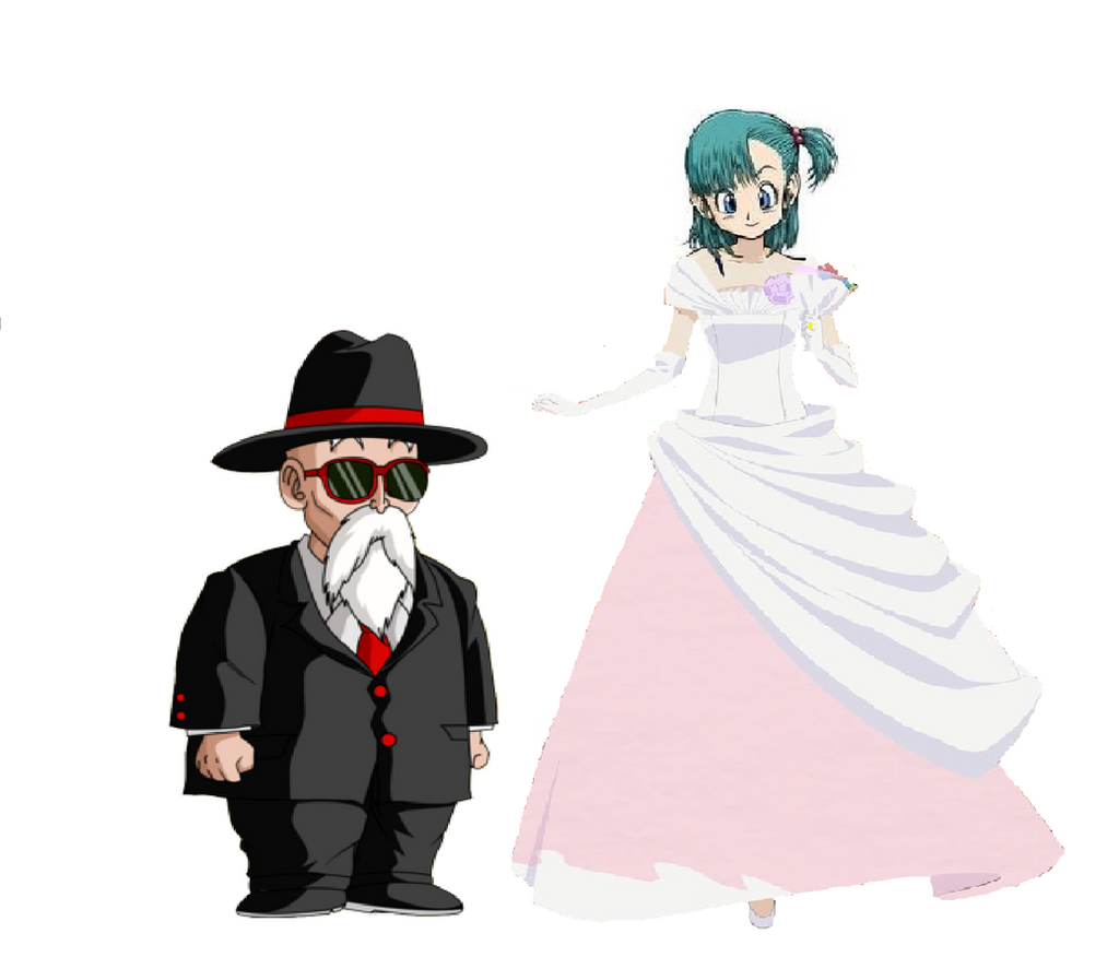 Master Roshi Marrying Bulma By Andresempe On Deviantart-8346