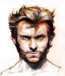 Hugh Jackman Wolverine colo