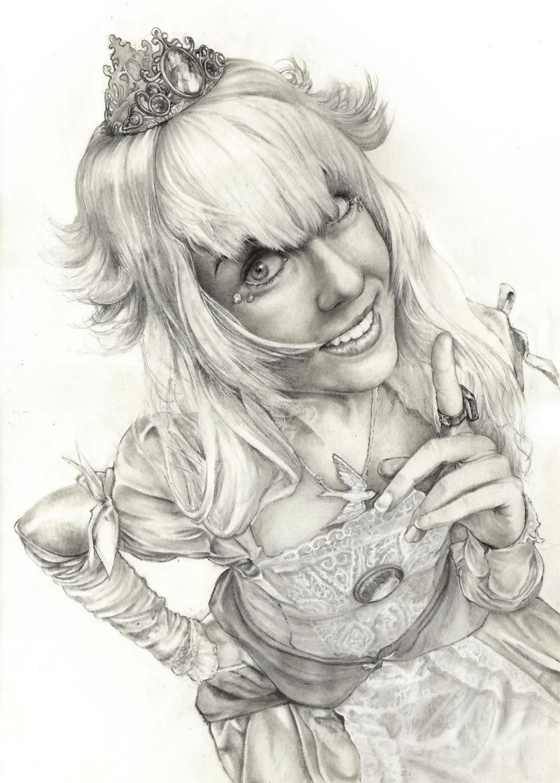 Princess Peach (Skirtz) by YannWeaponX
