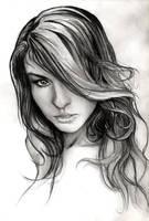Klaudia sketche by YannWeaponX